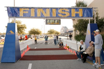 event managers and races   Race Finish Line Banner